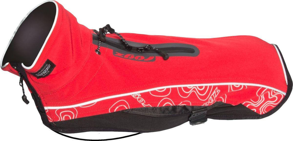 Попона для собак Rogz SportSkin, унисекс, цвет: красный. Размер XSDSS25CПопона для собак Rogz SportSkin предназначена для прогулок в холодные дни.Низ попоны выполнен из 100% полиэстера, ткани с дышащей PU мембраной, а верх - 96% полиэстер и 4% спандекс. Водоотталкивающая и водонепроницаемая ткань, пятна грязи на ней не впитываются и легко удаляются. Легко убирать остатки шерсти с помощью обычной щетки.Попона Rogz SportSkin защищает вашего питомца от сквозняков и пыли. В попоне кожа животного не перегревается.Специальные вставки вокруг шеи и на спине обеспечивают видимость при попадании света под любым углом. Эластичные ремни могут перемещаться вправо или влево в зависимости от обхвата груди животного. Удобная застежка-молния располагается сбоку, а не под горлом. Данная система обеспечивает комфорт и удобство движения для активных животных.Попона имеет специальные шнурки, которые позволяют затягивать изделие для более плотного прилегания.Специальная конструкция предотвращает защемление шерсти в зубья молнии и не вызывает раздражения на коже животного. Специальная застежка на спине позволяет надевать попону вместе со шлейкой. Регулируемые вставки облегчают прилегание изделия к лапам.Ручная или машинная стирка.Материал внешней части: 96% полиэстер, 4 % спандекс. Мембрана: 100% полиуретан. Внутренняя часть: 100% полиэстер.Одежда для собак: нужна ли она и как её выбрать. Статья OZON Гид
