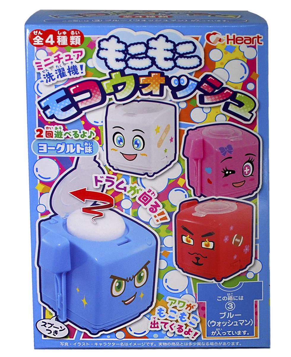 Heart Сделай Сам Стиральная машина десерт пенный с игрушкой, 88 г243179Казалось бы, что японцы уже выдумали, что угодно, но новая игрушка от Heart говорит об обратном! Сборная игрушка от компании Heart представляет собой стиральную машинку, которую нужно заполнить порошком, чтобы получить съедобный пенный коктейль. Игрушка проста в использовании, инструкция изображена на упаковке.