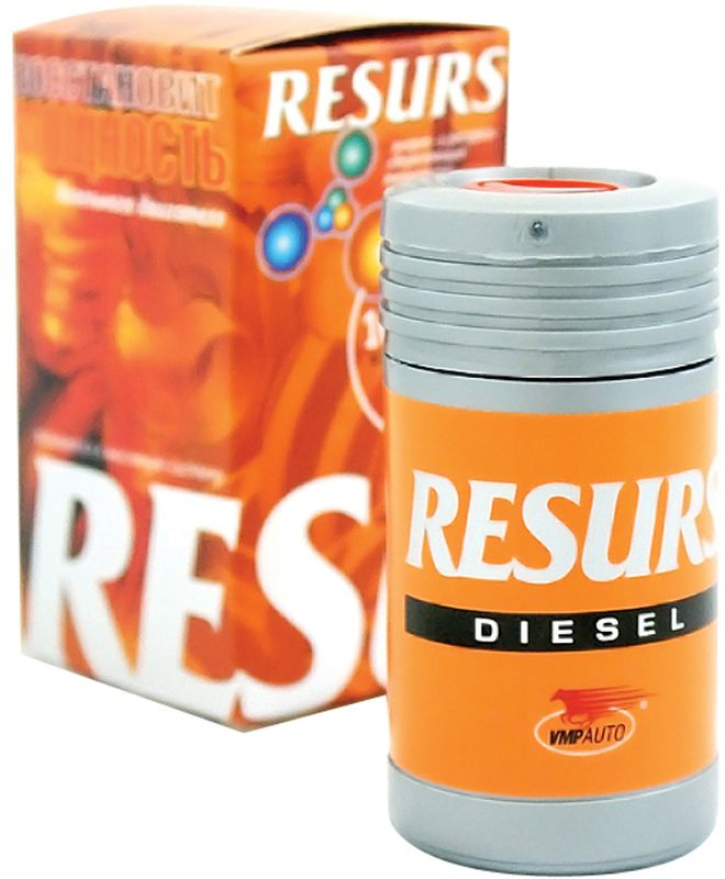 Присадка ВМПАвто Resurs Diesel, для дизельных двигателей, 50 г4401Присадка ВМПАвто Resurs Diesel применяется для восстановления и защиты от износа современных дизельных двигателей, в том числе с турбонаддувом. Наночастицы RESURS - это сплав меди, олова и серебра. Под воздействием давления и температуры они заполняют микротрещины и сколы, образуя новый металлический слой.Преимущества:-Устойчив в системах смазки с фильтрами и центрифугами.-Подходит для дизельных двигателей с турбонаддувом.-Предупреждает масляное голодание.-Защищает турбокомпрессор от перегрева.-Снижает угар масла в 5 раз.-Экономит топливо до 7-10 %.