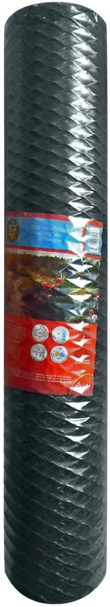 Сетка универсальная Garden Show, 1 х 5 м466252Сетка универсальная Garden Show, выполненная из пластика, является универсальным решением множества проблем на садовом участке. Их применяют там, где необходима вертикальная опора для поддержки тяжелых видов растений или же для вьющихся растений. Кроме того, применение пластиковой садовой сетки вполне оправданно и для создания клеток и вольеров, для обустройства беседок и пергол и для великого множества других подобных задач.Размер ячеек: 23 х 27 мм.