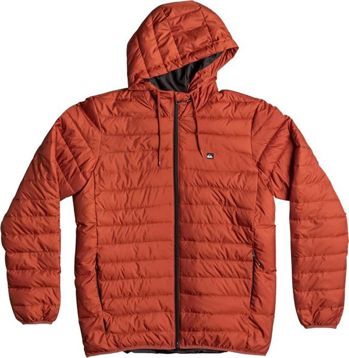Куртка мужская Quiksilver Everydayscaly M Jckt, цвет: рыжий. EQYJK03234-RZB0. Размер XS (44)EQYJK03234-RZB0Мужская куртка Quiksilver Everydayscaly M Jckt выполнена из 100% полиэстера с синтепоновым утеплителем. Модель с воротником-стойкой и несъемным капюшоном застегивается на молнию спереди. Капюшон дополнен утягивающим шнурком. Спереди куртка дополнена двумя врезными карманами на молниях.