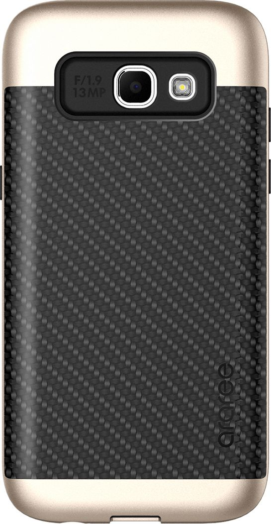 Araree Amy Classic чехол для Samsung A3 (2017), GoldAR20-00224A