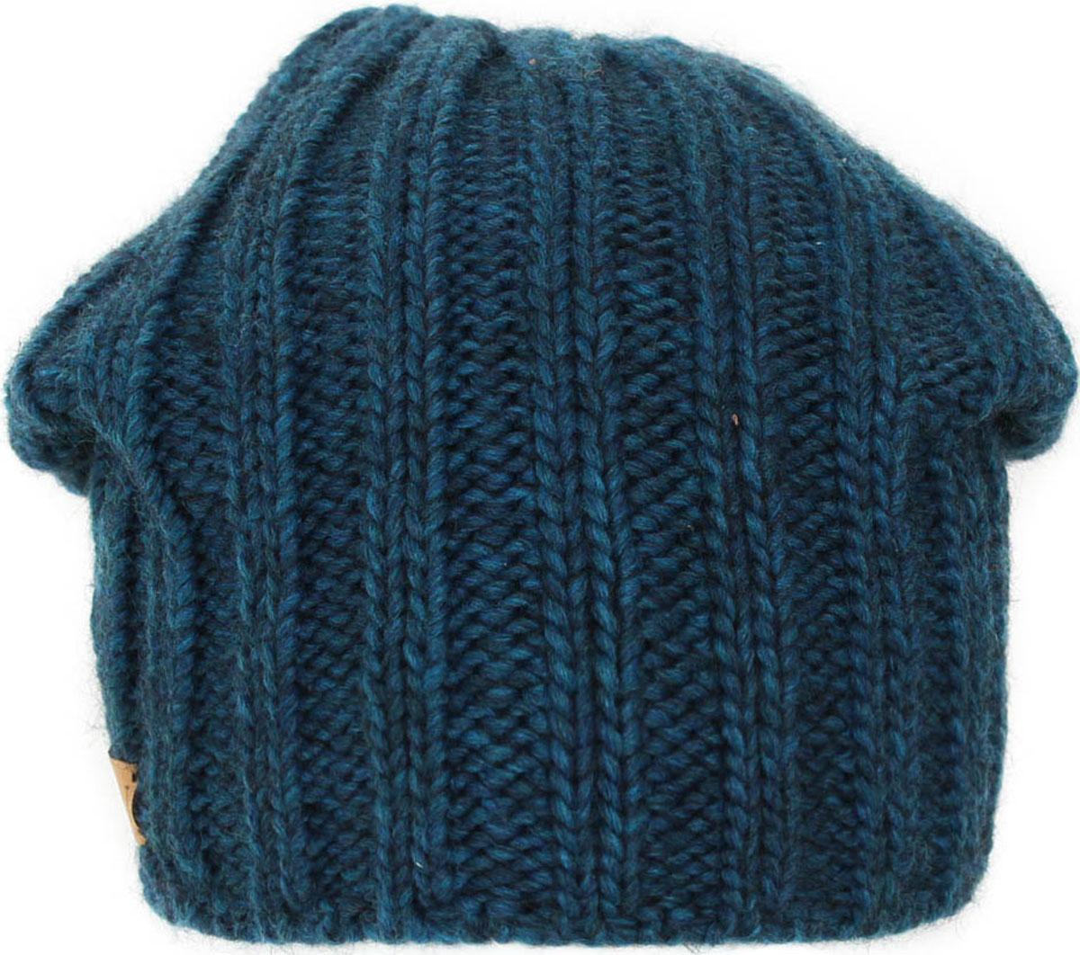 Шапка женская Flioraj, цвет: бирюзовый. 06FJ. Размер 56/5806FJСтильная шерстяная шапка-колпачок от Flioraj, выполненная из шерсти с добавлением вискозы и полиакрила, отлично согреет в холодную погоду. Состав пряжи делает изделие мягким, теплым и комфортным. Модель выполнена актуальной резинкой, сбоку дополнена нашивкой из натуральной кожи.