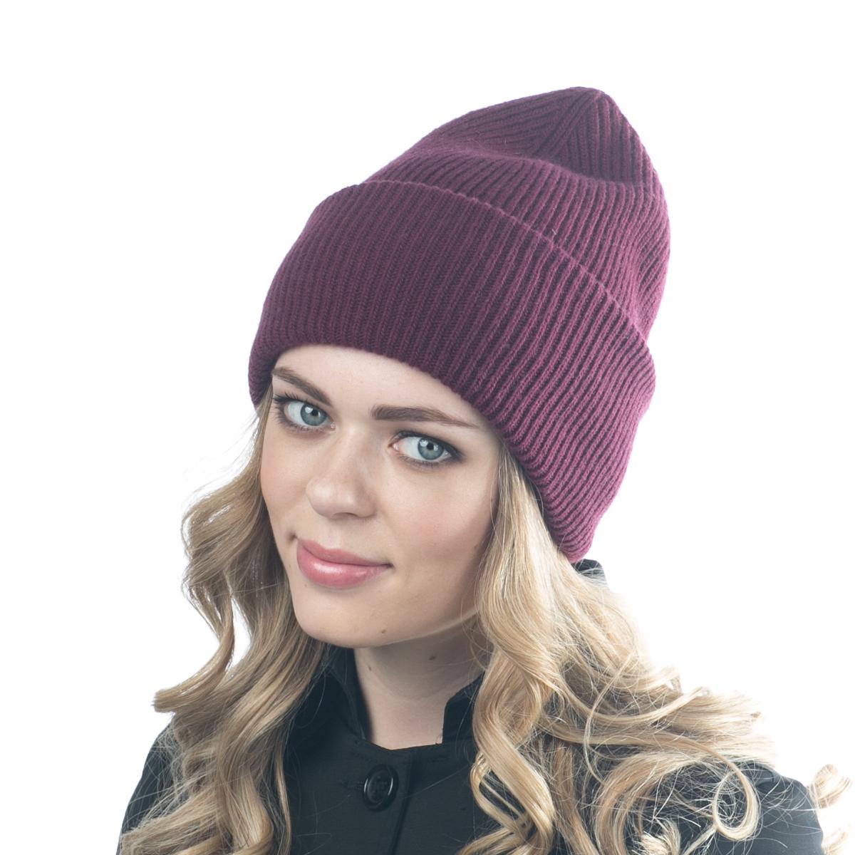 Шапка женская Flioraj, цвет: бордовый. 08FJ. Размер 56/5808FJДвойная шерстяная шапка-колпачок от Flioraj, выполненная из овечьей шерсти, альпаки и кашемира, поднимет настроение и отлично согреет в холодную погоду. Состав пряжи делает изделие мягким, теплым и комфортным. Такую шапочку можно носить с любым видом верхней одежды, достаточно только определиться с цветом.