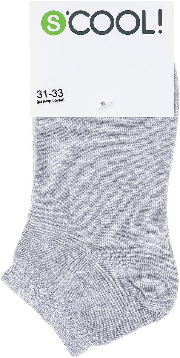 Носки для девочки Scool, цвет: серый. 374085. Размер 24374085Носки Scool очень мягкие, из натуральных материалов, приятные к телу и не сковывают движений. Хорошо пропускают воздух, тем самым позволяя коже дышать. Даже частые стирки, при условии соблюдений рекомендаций по уходу, не изменят ни форму, ни цвет изделия. Мягкая резинка не сдавливает нежную детскую кожу.