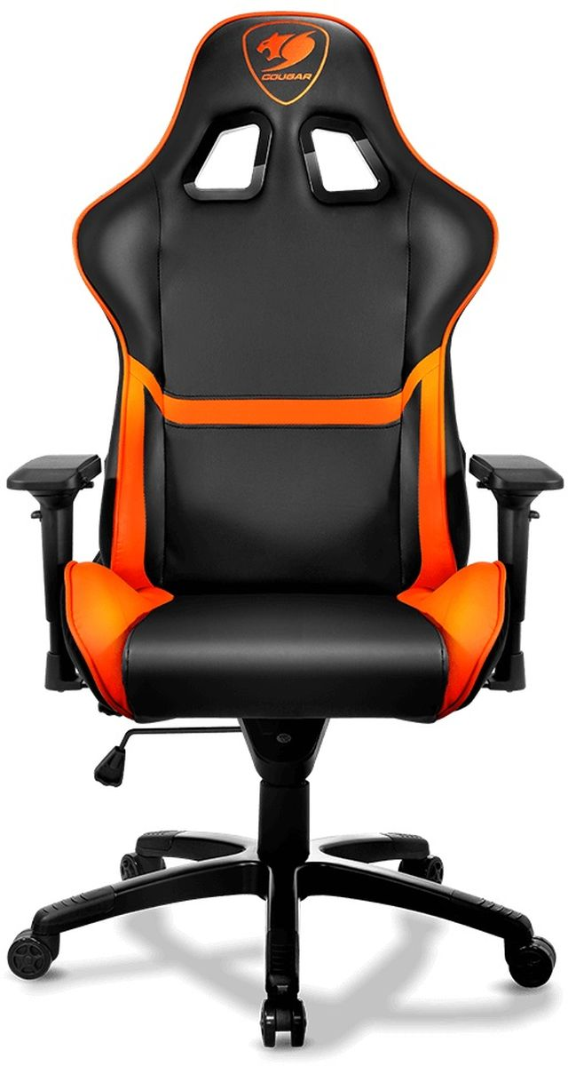 Cougar Armor, Black Orange игровое кресло наушники philips shq1300or 00 orange