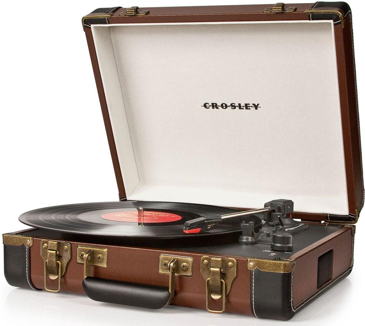 Crosley Executive, Brown Black виниловый проигрыватель - Hi-Fi компоненты