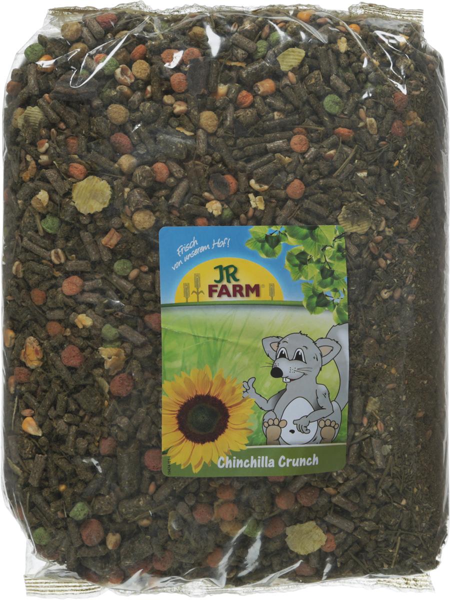 Корм для шиншилл JR Farm Crunch, 2,5 кг. 4186741867Корм для шиншилл JR Farm Crunch - это сбалансированное питание, которое включает необходимые витамины и минералы для полноценной жизни животного. Высокое содержание клетчатки поддерживает здоровое пищеварение. Рецептура корма без содержания сахара, с умеренным количеством нутриентов, с важными питательными веществами. Корм разработан с учетом индивидуальных потребностей. Произведен только из натуральных компонентов.Товар сертифицирован.