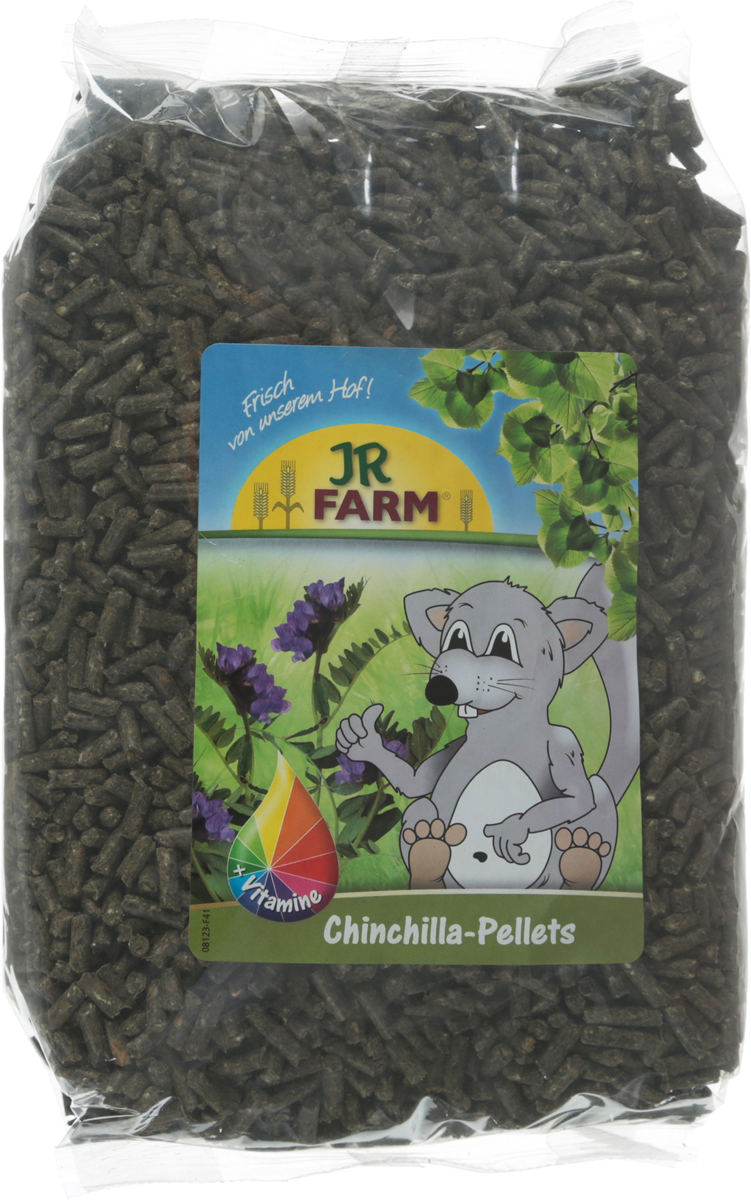 Корм для шиншилл JR Farm Pellets, 1 кг. 37766