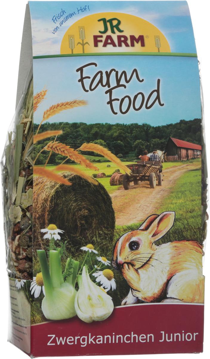 Корм для молодых карликовых кроликов JR Farm Farm Food Junior, 750 г игровые наборы tomy britains big farm фермерский прицеп со свинками