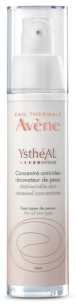 Avene Антивозрастная сыворотка Ystheal Intense, 30 млC48158Разглаживает возрастные и мимические морщины. Восстанавливает сияние и гладкость кожи. Улучшает текстуру кожи, выравнивает ее тон. Этоантивозрастное средство обновляет кожу, корректируя все признаки старения, благодаря уникальному и запатентованному сочетаниювысококонцентрированных активных компонентов:Ретинальдегид:Революционный омолаживающий активный компонент, эффективность которого подтверждена клиническими исследованиями поддерматологическим контролем. Ретинальдегид усиливает клеточную активность.Глицилглицин Олеамид:Усиливает антивозрастное действие ретинальдегида, способствует сохранению эластичности кожи.Претокоферил:Мощный антиоксидант, обеспечивает защитный барьер для кожи против негативного воздействия свободных радикалов.Термальная вода Avene: Смягчает и предотвращает раздражение, мгновенно успокаивает кожу.Морщины разглаживаются, восстанавливается сияние и гладкость кожи, текстура кожи улучшается. Действующие патенты