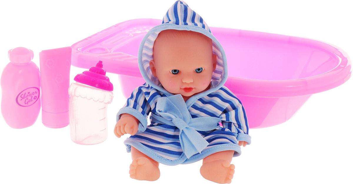 Город игр Пупс Baby MayMay с ванной цвет одежды голубой кукла город игр baby maymay gi 6423