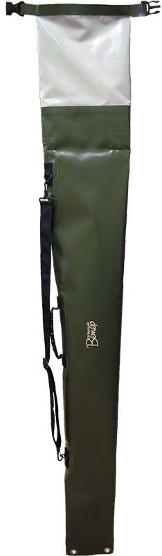 Гермомешок Вольный ветер, для ружья, цвет: зеленый21046Гермочехол для ружья Вольный ветер - это защита от влаги из воздуха, а так же от прямого попадания упаковки с ружьем в воду. Данная гермоупаковка для ружья была неоднократно испытана в продолжительных сплавах по рекам Дальнего Востока. Гермочехол для ружья имеет простую и максимально надежную систему закрывания - скрутку, которая позволяет быстро и тихо открыть чехол и достать ружье. Отсутствие молний и дополнительных клапанов увеличивают надёжность гермы. Гермоупаковка для ружья имеет удобную ручку и лямку для переноса на плече.