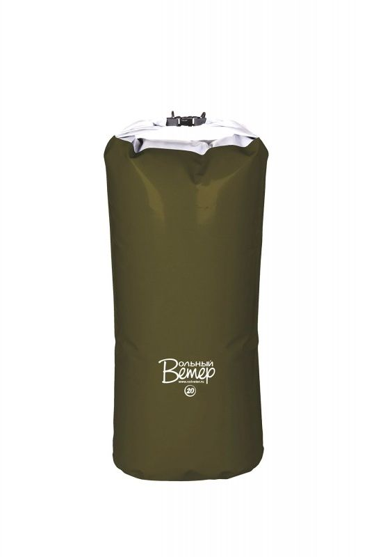 Гермомешок Вольный ветер, цвет: зеленый, 20 л21001Классический, прочный гермомешок из ткани ПВХ объёмом в 20 литров. Все швы гермомешка выполнены сваркой ТВЧ. Отлично подойдет для хранения вещей в сухости во время сплава. Маленькая гермоупаковка подойдет для походной аптечки или дамской косметички, любимых сухих ботинок, вещей, которые должны быть под рукой. Она займет место между больших герм на большом судне или станет палочкой выручалочкой на маленьком. Вдоль клапана пришита пластиковая лента, что обеспечивает более плотную скрутку и фиксацию клапана.