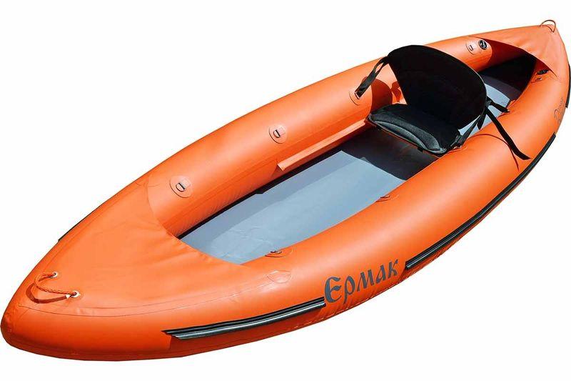 Лодка Вольный ветер Ермак 340, цвет: оранжевый