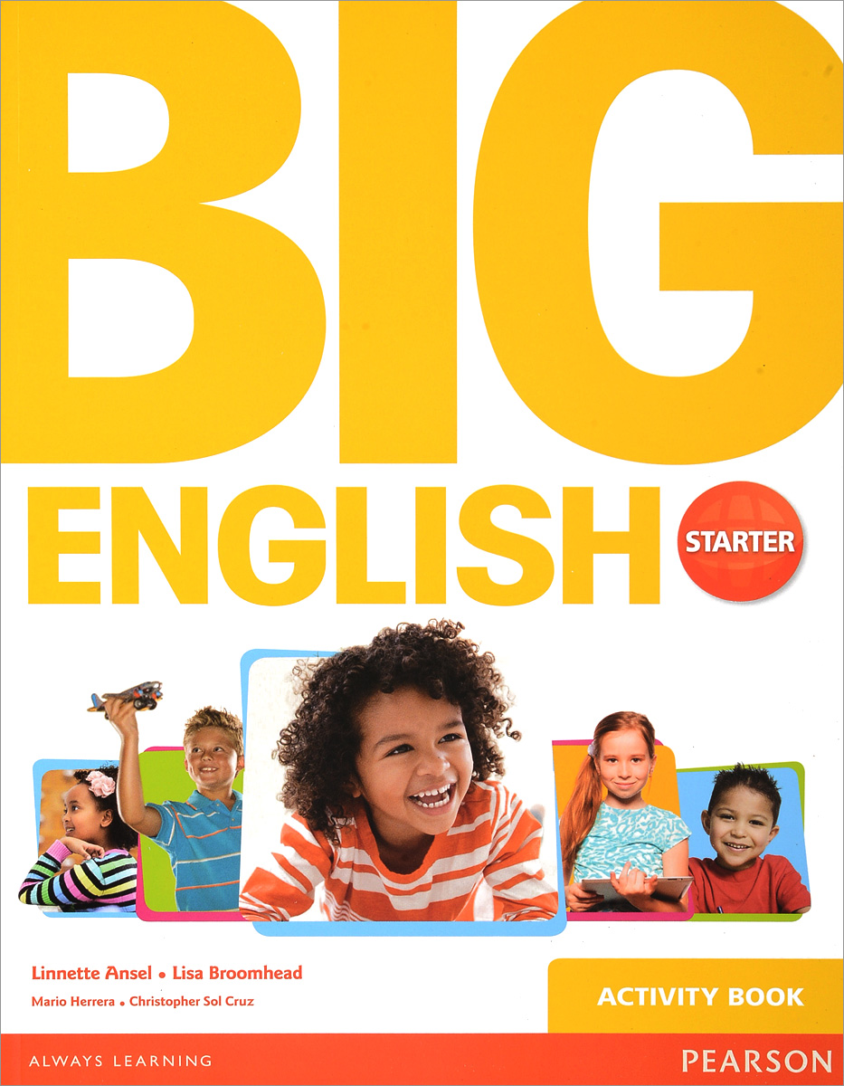 Big English Starter: Activity Book raggio a4112pl 1wh arte lamp 1112799