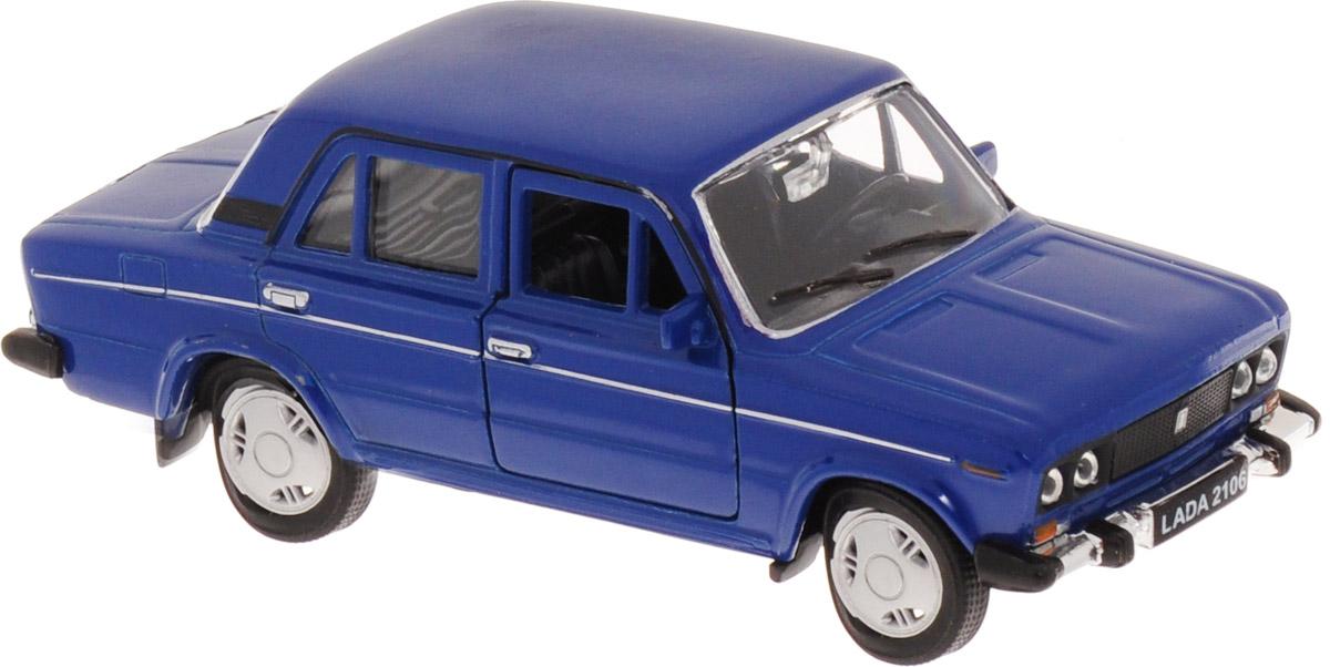 Welly Модель автомобиля LADA 2106 цвет синий авто ваз 2106 д шево и балаково