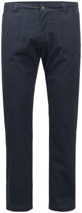 Брюки утепленные мужские Jack Wolfskin Arctic Road Pants M, цвет: темно-синий. 1504481-1010. Размер 56 (56)1504481-1010Прочные ветро- и водонепроницаемые брюки с теплой подкладкой Jack Wolfskin Arctic Road Pants подойдут для путешествий и для повседневной носки. Модель прямого кроя стандартной посадки на талии имеет застежку-молнию в ширинке и пуговицу на поясе. Имеются шлевки для ремня. Изделие дополнено двумя втачными карманами спереди и двумя накладными карманами сзади. Чтобы оценить по достоинству брюки Arctic Road Pants, совсем не обязательно ехать в Арктику. Они отлично согреют вас и на прогулке по зимнему парку. Брюки сшиты из прочной проверенной временем ткани Function 65 - практичного гибридного материала из смеси органического хлопка и прочных синтетических волокон. Ткань эффективно защищает от ветра, а кратковременные ливни ей совсем не помеха. А мягкая теплая подкладка из микрофибры не позволит вам замерзнуть. Два кармана на бедрах и два задних кармана смогут вместить деньги, ключи и другие важные вещи, которые лучше держать под рукой.