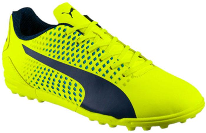 Бутсы мужские Puma Adreno III TT, цвет: желтый. 10404809. Размер 10,5 (44)