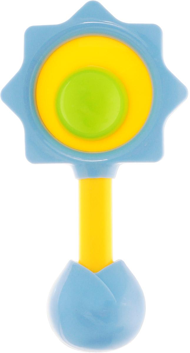 Ути-Пути Погремушка цвет голубой желтый зеленый цена
