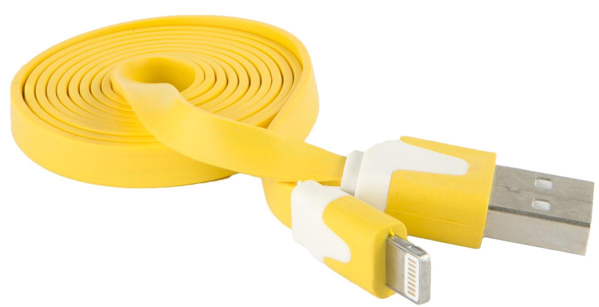 Red Line, Yellow кабель Lightning-USB (1 м)УТ000010096Кабель Red Line позволяет подключить ваш iPhone, iPad или iPod с разъёмом Lightning к порту USB на компьютере для синхронизации и зарядки. Кроме того, его можно подключить к адаптеру питания USB, чтобы зарядить устройство от розетки.