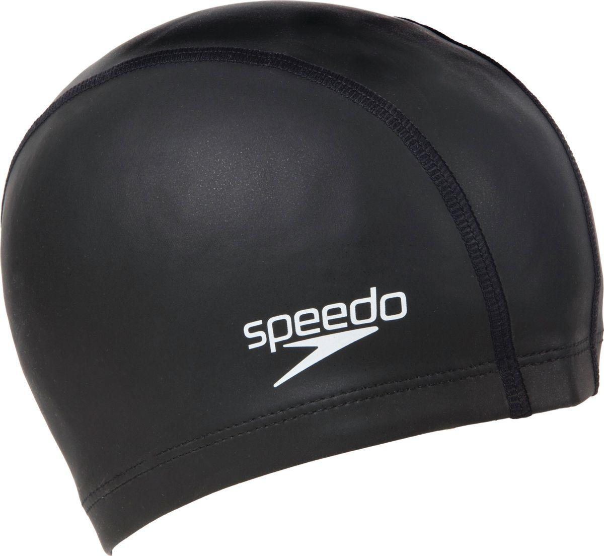 Шапочка для плавания Speedo Ultra Pace Cap Au, цвет: черный8-017310001Силиконовая шапочка Speedo Ultra Pace Cap Au обеспечивает плотное прилегание и полную защиту от попадания воды. Отлично подойдет для тренировок в бассейне.