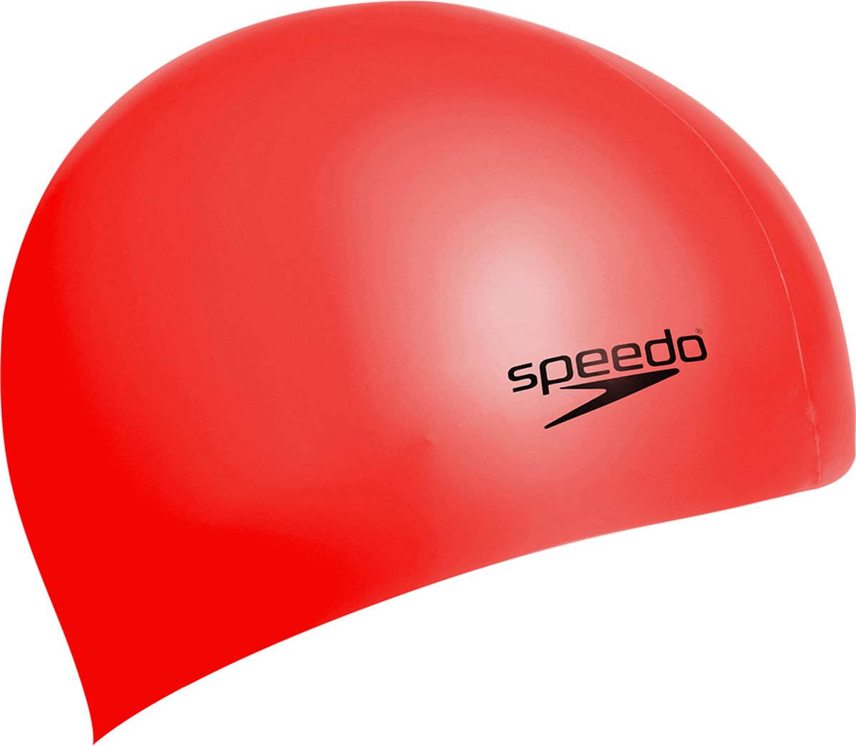 Шапочка для плавания Speedo Silc Moud Cap Au Red, цвет: красный8-709846446