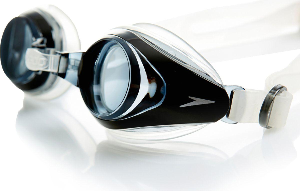 Очки для плавания с диоптриями Speedo Mariner Optical, цвет: черный, - 6,08-008513081_-6,0