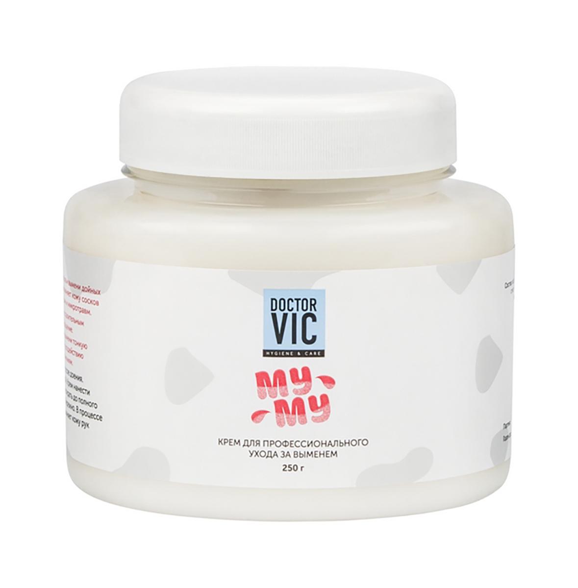 Крем Doctor Vic Му-му, для профессионального ухода за выменем, 250 гХ1П12Н-629Крем предназначен для профилактического ухода за выменем и кожей рук доярок