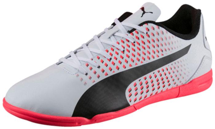 Кроссовки для футзала мужские Puma Adreno III IT, цвет: белый. 10404705. Размер 8,5 (41,5)