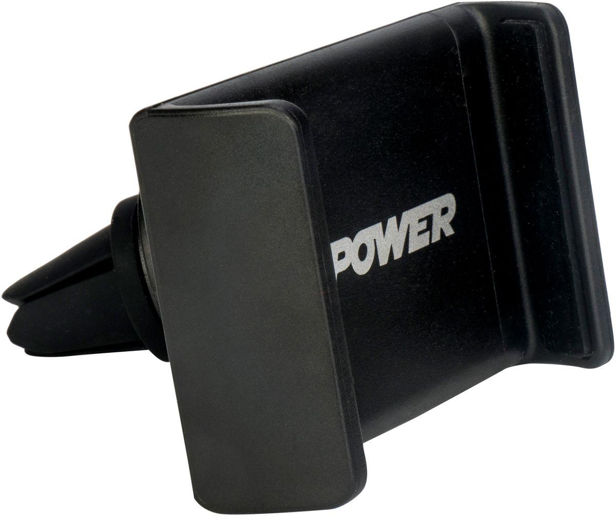 Держатель для телефона автомобильный Zipower, 55-85 мм. PM 6622 держатель автомобильный zipower для телефона на присоске pm 6629