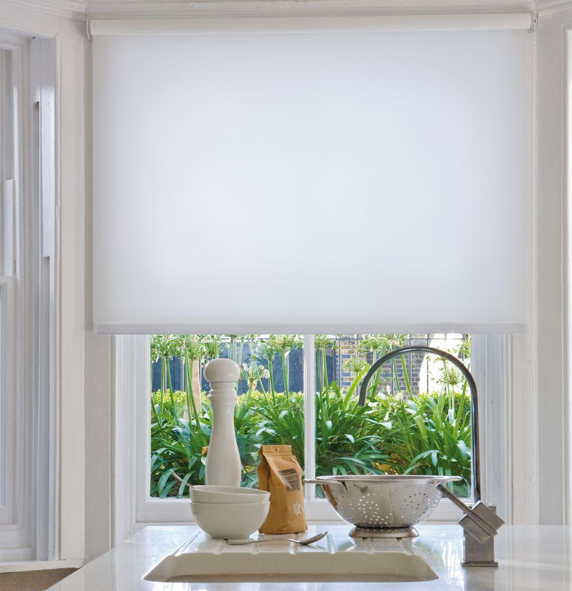 Штора рулонная Эскар Миниролло, цвет: белый, ширина 37 см, высота 170 см31008037170Рулонная штора Эскар Миниролло выполнена из высокопрочной ткани, которая сохраняет свой размер даже при намокании. Ткань не выцветает и обладает отличной цветоустойчивостью.Миниролло - это подвид рулонных штор, который закрывает не весь оконный проем, а непосредственно само стекло. Такие шторы крепятся на раму без сверления при помощи зажимов или клейкой двухсторонней ленты (в комплекте). Окно остается на гарантии, благодаря монтажу без сверления. Такая штора станет прекрасным элементом декора окна и гармонично впишется в интерьер любого помещения.