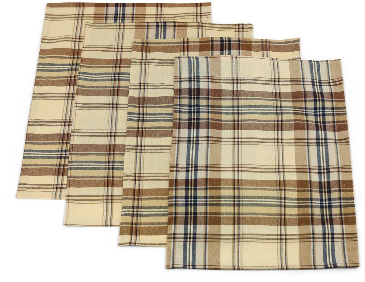 Набор сервировочных салфеток KauffOrt Осло, цвет: мультиколор, 32 х 43 см, 4 шт