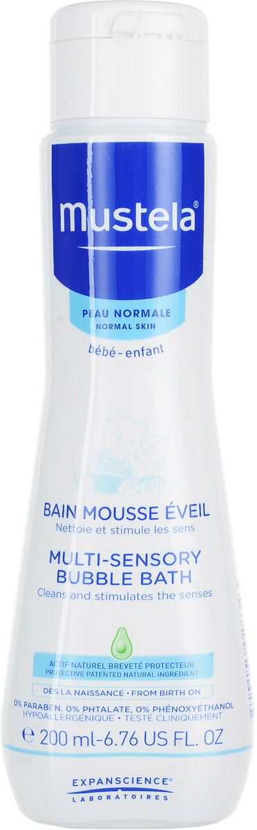 Mustela Пена для ванны, 200 млМ224Пена для ванны Mustela разработана для бережного очищения кожи малыша с рождения. Разработано дляминимизации риска аллергических реакций. Свойства: Бережно очищает кожу малыша. Текстура пенки, голубой оттенок и нежный аромат помогают развивать чувственное восприятие ребенка. Не щиплет глаза. Приоритет отдается ингредиентам природного происхождения Биоразлагаемая формула. Преимущества: - Запатентованный ингредиент Avocado Perseose: усиливает кожный барьер и сохраняет клеточные ресурсы кожи- Масло жожоба: восполняет липиды, восстанавливает, надолго увлажняет - Витамины E и F: восстанавливают и поддерживают водный баланс - Масло ши: смягчает, успокаивает и питает эпидермис - Доказанная клиническая эффективность.Товар сертифицирован Уважаемые клиенты!Обращаем ваше внимание на возможные изменения в дизайне упаковки. Качественные характеристики товара остаются неизменными. Поставка осуществляется в зависимости от наличия на складе.