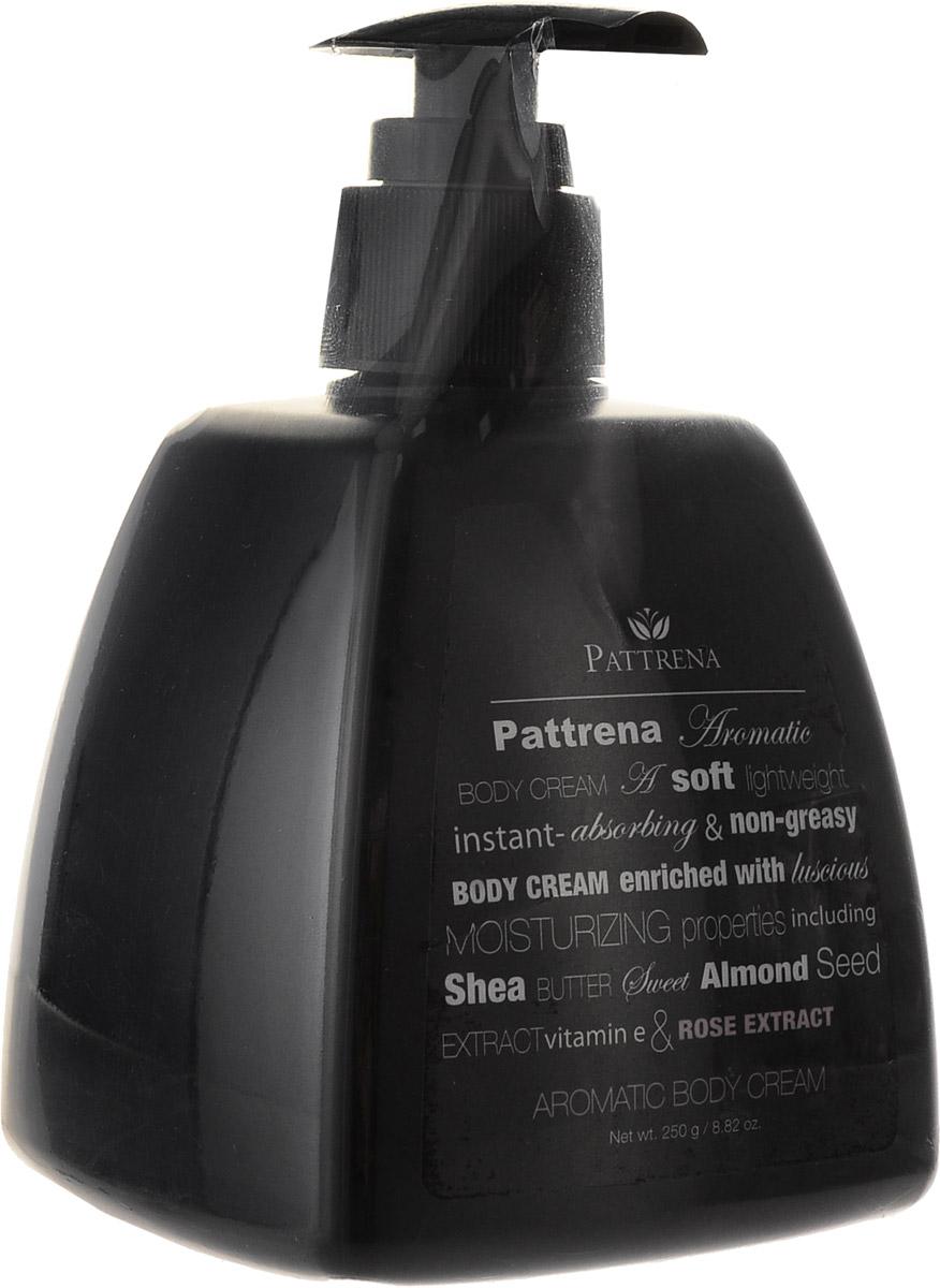 Pattrena Ароматный крем для тела Роза, 250 г60939Увлажняющий, мягкий, легкий, нежирный крем для тела Pattrena. Обогащен натуральными увлажняющими ингредиентами - масло Ши, масло семян сладкого миндаля, витамина Е, экстракт Роз.Не оставляет ощущения липкости. Крем обладает романтичным ароматом Роз, увлажняет кожу, делая ее нежной, придавая ощущение свежести и расслабленности.