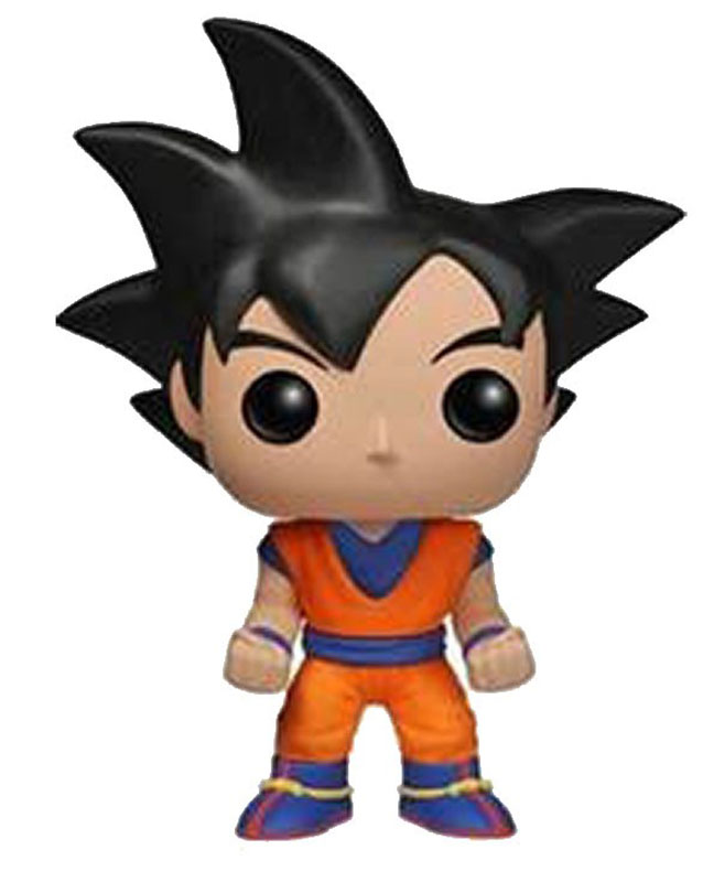 Funko POP! Vinyl Фигурка Dragon Ball Z: Black Hair Goku dragon ball z msp master stars piece the son goku chocolate manga ver pvc figure collectible model toy 27cm