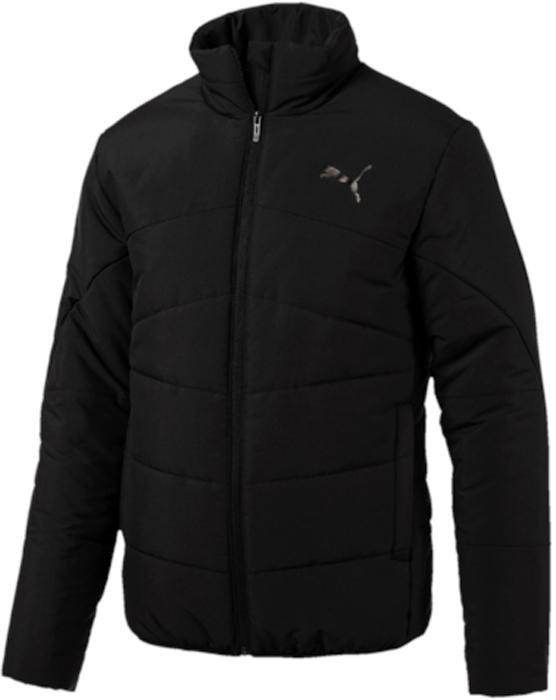 Куртка мужская Puma ESS Padded Jacket, цвет: черный. 59235701. Размер XXL (52/54) толстовка мужская puma ess sweat jacket tr цвет серый 838254 03 размер xxl 52 54