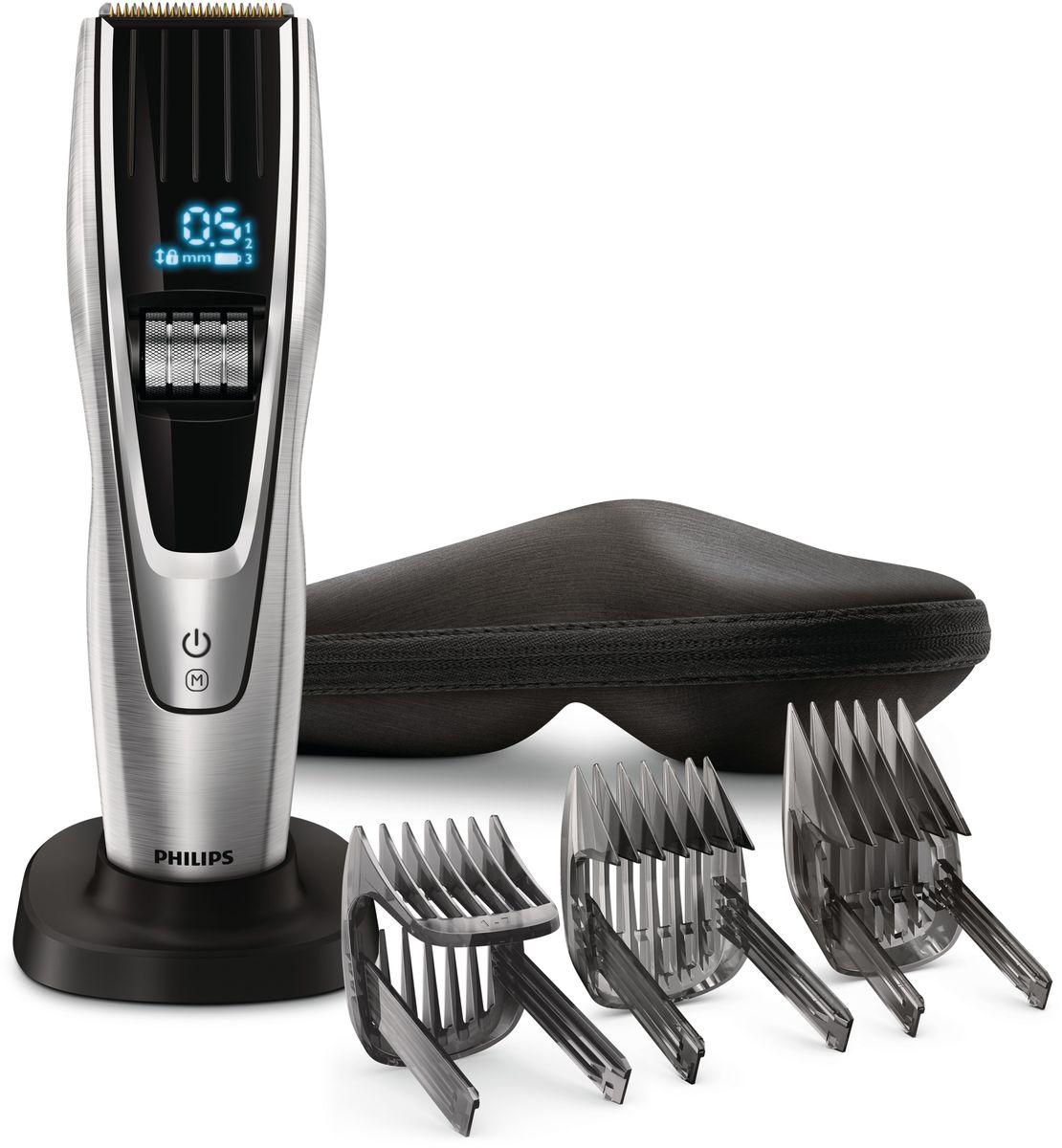 Philips HC9490/15 беспроводная машинка для стрижки волос с 400 установками длины - Машинки для стрижки