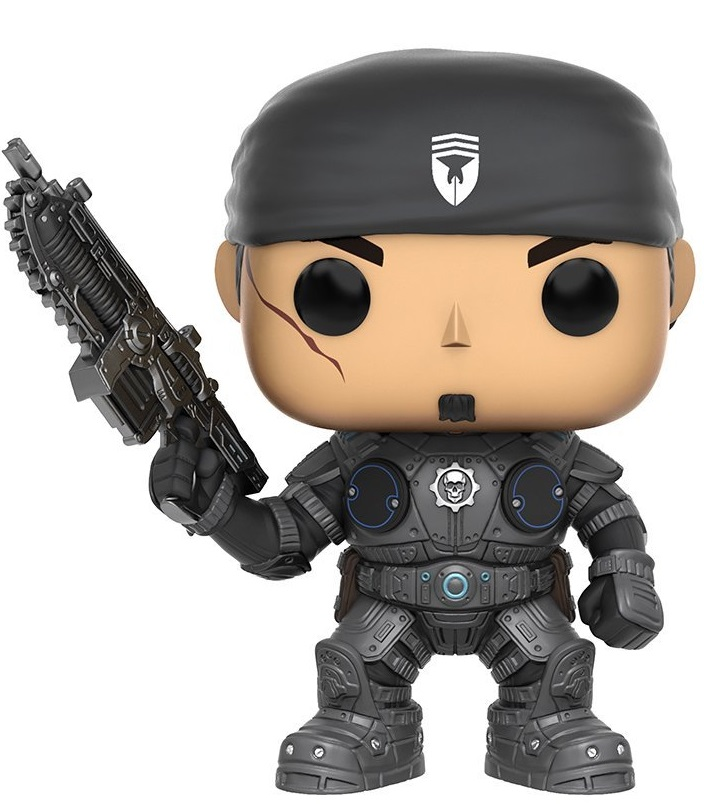 Funko POP! Vinyl Фигурка GOW: Marcus Fenix фигурка gears of war 4 jd fenix 17 см