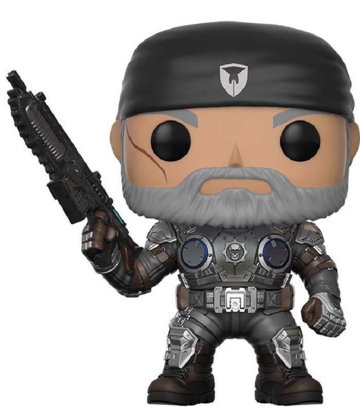 Funko POP! Vinyl Фигурка GOW: Marcus Fenix (Old Man) фигурка gears of war 4 jd fenix 17 см