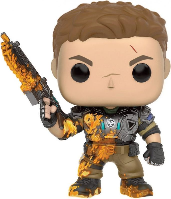 Funko POP! Vinyl Фигурка GOW: JD Fenix with Slime фигурка funko pop games gears of war damon baird armored 9 5 см