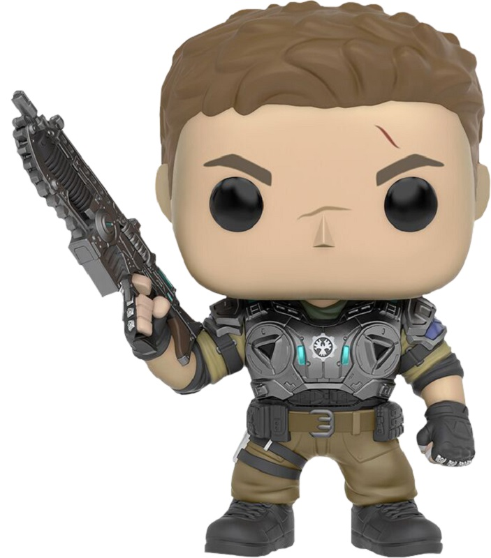 Funko POP! Vinyl Фигурка GOW: JD Fenix Armored фигурка funko pop games gears of war damon baird armored 9 5 см