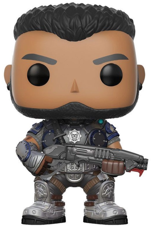 Funko POP! Vinyl Фигурка GOW: Dominic Santiago фигурка gears of war 4 jd fenix 17 см