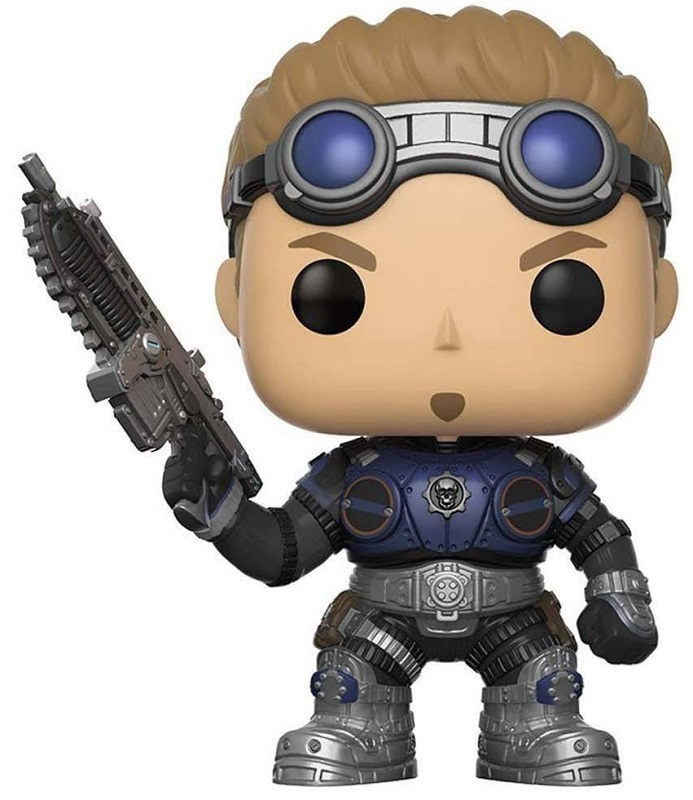 Funko POP! Vinyl Фигурка GOW: Damon Baird Armored фигурка funko pop games gears of war damon baird armored 9 5 см