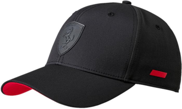 Бейсболка Puma Ferrari LS, цвет: черный. 02127801. Размер универсальный