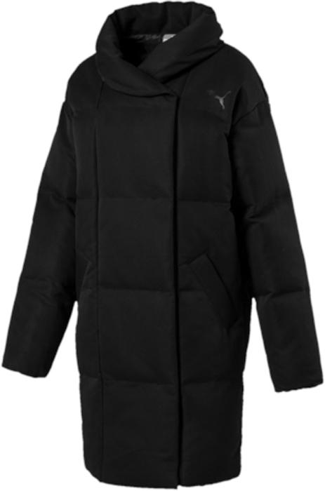 Куртка женская Puma Oversize style Padded Jacket, цвет: черный. 59266701. Размер XXL (50/52) puma style padded jacket w forest night