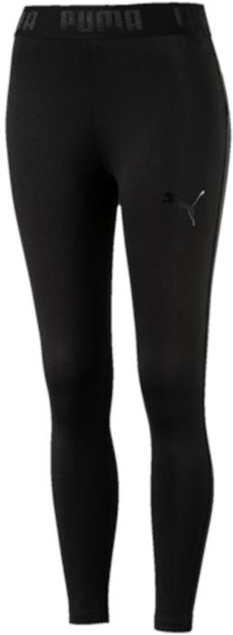 Леггинсы женские Puma Active ESS Banded Leggings, цвет: черный. 59357801. Размер S (42/44)59357801Модель декорирована набивным логотипом Puma с прорезиненными элементами и изготовлена с использованием высокофункциональной технологии DryCell, которая отводит влагу, поддерживает тело сухим и гарантирует комфорт во время активных тренировок и занятий спортом. Пояс посажен на подкладку из эластичного материала с фирменной символикой. Завышенный пояс подчеркивает все достоинства женской фигуры и обеспечивает комфорт во время тренировки. Фасон в обтяжку по фигуре очень элегантен.