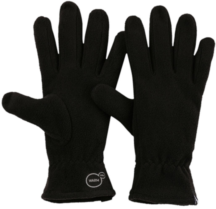 Перчатки Puma Fleece Gloves, цвет: черный. 04131701. Размер L/XL (10)04131701Стильные перчатки из флиса изготовлены с использованием высокофункциональной технологии WarmCell, которая благодаря дышащим свойствам материала удерживает тепло и сохраняет оптимальную температуру вашего тела даже в холодную погоду. Они отлично сидят на руке за счет эластичного материала манжет. Также перчатки декорированы тканым ярлыком с логотипом Puma на манжетах.