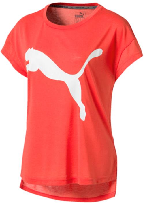 Футболка женская Puma Urban Sports Trend Tee, цвет: коралловый. 59398226. Размер M (44/46) футболка женская puma urban sports trend tee цвет коралловый 59398226 размер m 44 46