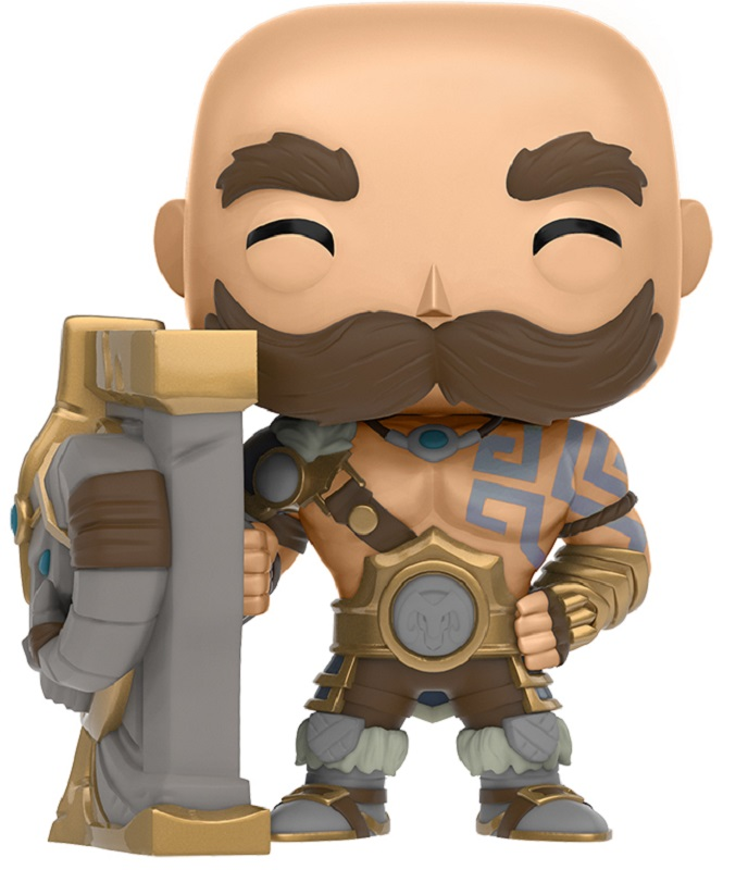 Funko POP! Vinyl Фигурка League of Legends: Braum 30cm league of legends lol panda plush doll stuffed toy birthday gift
